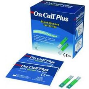 نوار تست قندخون ایکان مدل On Call Plus G133-115  Acon On Call Plus G133-115 Test Strips