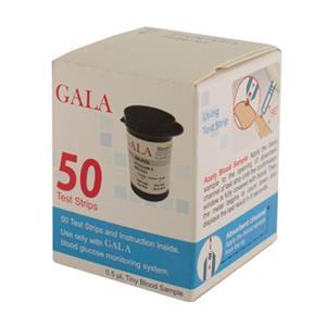 نوار تست قند خون گالا Gala  Gala Blood Glucose Test Strips