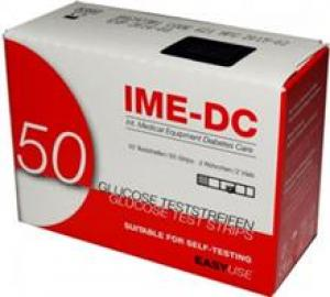 نوار تست قند خون آی ام ای دی سیIME DC TEST STRIP  IME-DC NGH Glucose Test Strips Pack Of 50